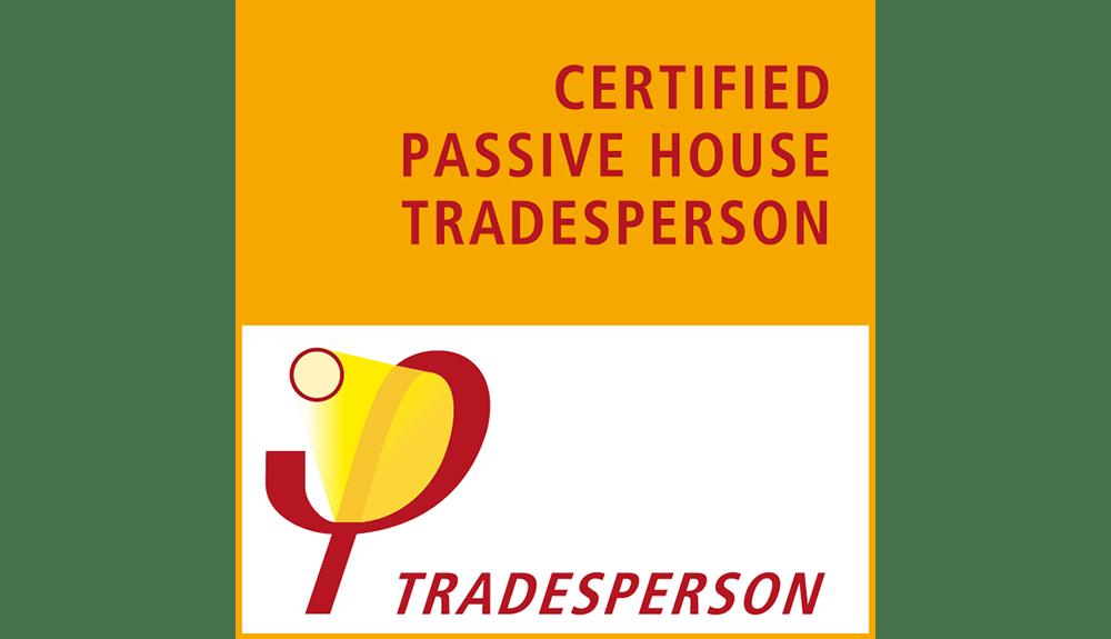 Passivhaus Certified Passive House Tradesperson